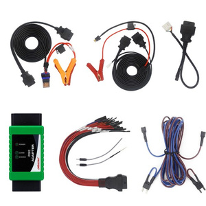OBDSTAR P002 Adapter Full Package with TOYOTA 8A Cable + Ford All Key Lost Cable + Bosch ECU Flash Cable Work with X300 DP Plus and Pro4