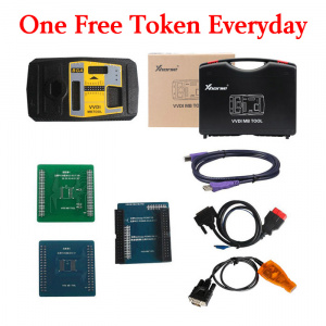 VVDI MB BGA Tool with one free tokens everyday
