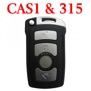 3 Buttons 315 MHz Remote Key for BMW 7 Series CAS1