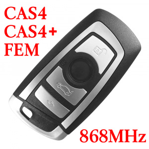 868 MHz Smart Proximity Key for 2009~2014 5 / 6 / 7 / X3 Series BMW CAS4 CAS4+ FEM
