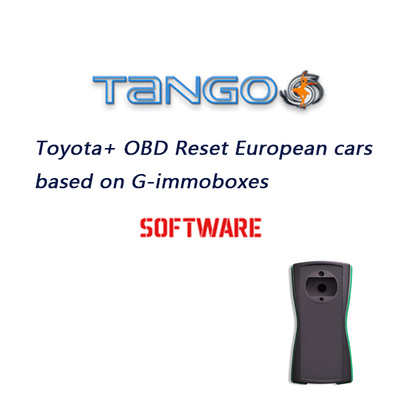 TANGO Toyota+ OBD Reset European cars based on G-immoboxes Software