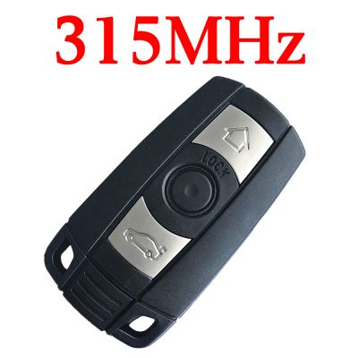 315 MHz Remote Key for 2004 ~ 2011 BMW 3 / 5 Series - KR55WK49127 KR55WK49123