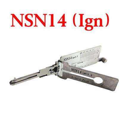 Original LISHI NSN14 Ign Auto Pick and Decoder for Nissan