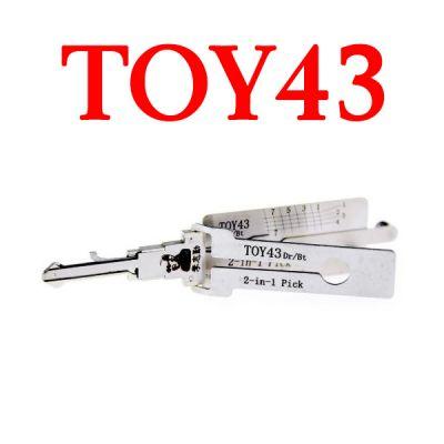 Original Lishi Lock Decoder - TOY43 for Toyota Lexus