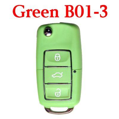 KEYDIY B01-3 Luxury Green Universal Remote Control - 5 pcs