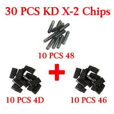 30 pcs Chips for KD X-2 - 4D 46 48 chip 10 pieces each