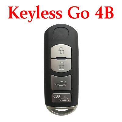 3+1 Buttons 433.92 MHz Smart Proximity Key For Mazda (VDO) - Keyless Go