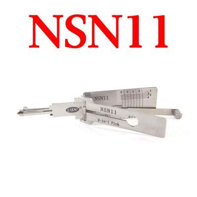 Original LISHI NSN11 Auto Pick and Decoder for Nissan