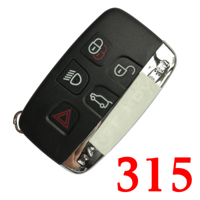 5 Buttons 315 MHz Smart Proximity Key for 2011~2018 Range Rover