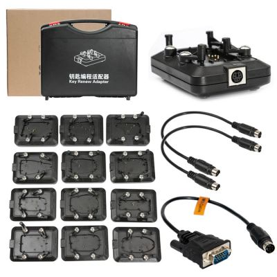 Hands-Free Renew Adapters Kit Works for MK3 & VVDI Key Tool - Full Set with 12 Pieces