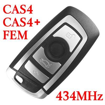 434 MHz Smart Proximity Key for 2009~2014 BMW 5 / 6 / 7 / X3 Series CAS4 CAS4+ FEM