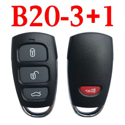 KEYDIY B20-3+1 KD Universal Remote KIA Hyundai Azera Type - 5 pcs