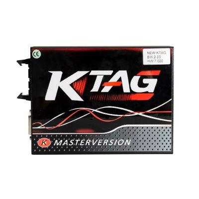 KTAG EU Online Version Ktag Firmware V7.020 Software V2.25 Ktag Master with Red PCB unlimited token