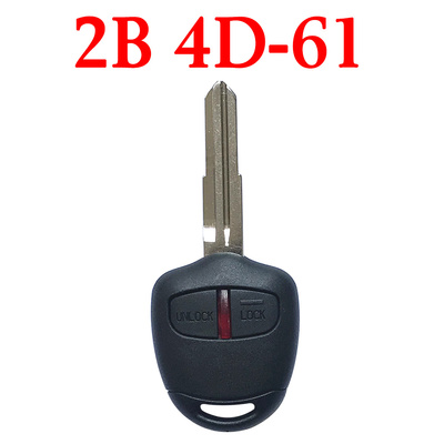 2 Buttons 434 MHz Remote Key For Mitsubishi - MIT8 4D-61