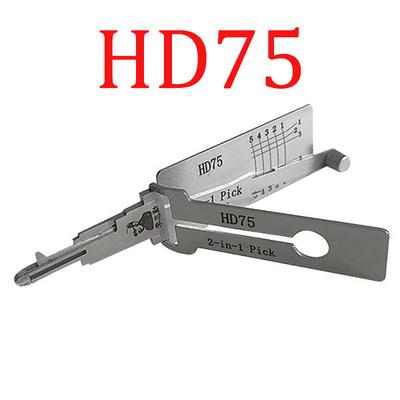 Original Lishi Honda HD75 / HON31R 2-in-1 Pick (Anti-Glare)