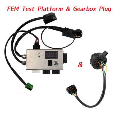 BMW FEM / BDC BMW F20 F30 F35 X5 X6 I3 Test Platform with Gearbox Plug