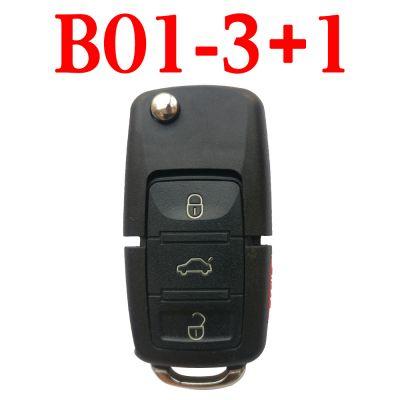 KEYDIY B01-3+1 KD Remote control - 5 pcs