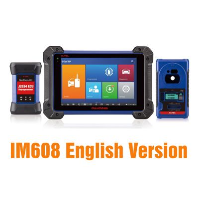 Autel OtoSys IM608 Advanced IMMO & Key Programming & ECU Coding Scanner - English Version