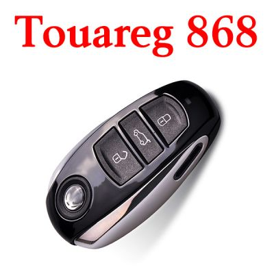 Genuine 3 Buttons 868 MHz Flip Remote Key for VW Touareg