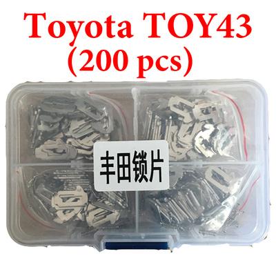 Toyota TOY43 Car lock Reed Locking Plate Inner Milling Locking Tabs ( 200 pcs )