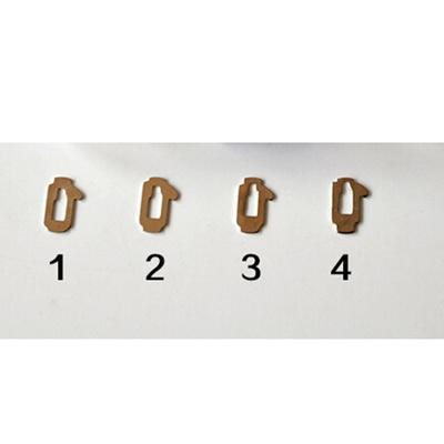Subaru Car lock Reed Locking Plate Inner Milling Locking Tabs (200pcs)