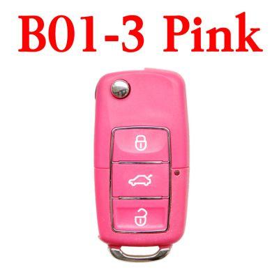 KEYDIY B01-3  Luxury Pink Universal Remote control - 5 pcs