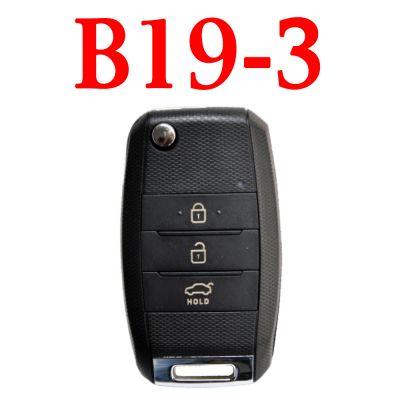 KEYDIY B19-3 KD Remote control - 5 pcs