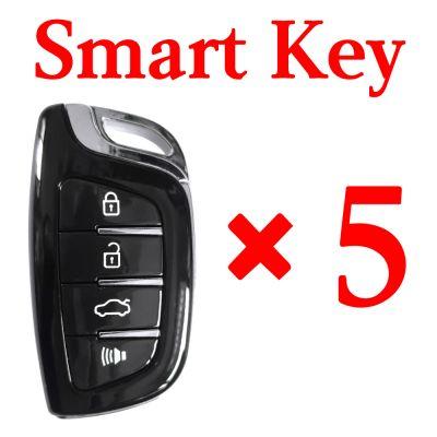 Xhorse VVDI Universal Smart Key with Proximity - 4 Butoons - 5pcs