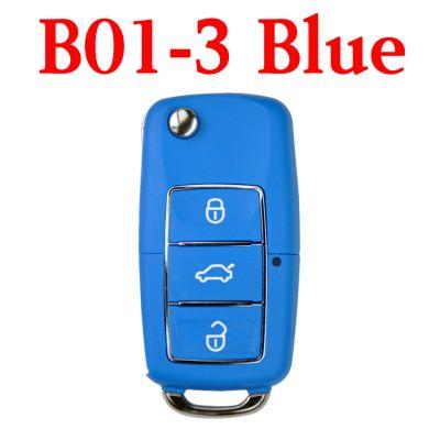 KEYDIY B01-3 Luxury Blue Universal Remote Control - 5 pcs