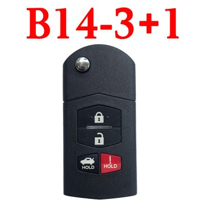 KEYDIY B14-3+1 KD Universal Remote control - 5 pcs