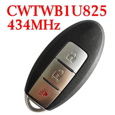434 MHz 2+1 Buttons Smart Proximity Key for Nissan Cube Armada 2009-2018 - CWTWB1U825 / CWTWB1U773 - ID46- Without Logo