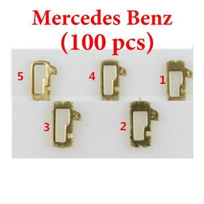 Mercedes Benz Car lock - Reed Locking Plate Inner Milling Locking Tabs ( 100 pcs)