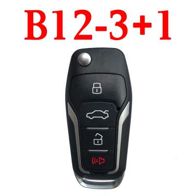 KEYDIY B12-3+1 (B12-4) KD Remote control - 5 pcs