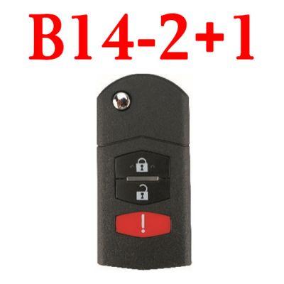 KEYDIY B14-2+1 KD Remote control for - 5 pcs