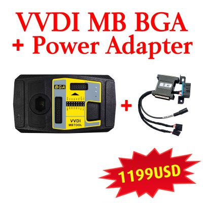 Xhorse VVDI MB BGA Tool with Power Adapter for Fast Data Aquisition