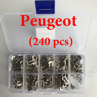 Peugeot Car lock -  Reed Locking Plate Inner Milling Locking Tabs ( 240 pcs)