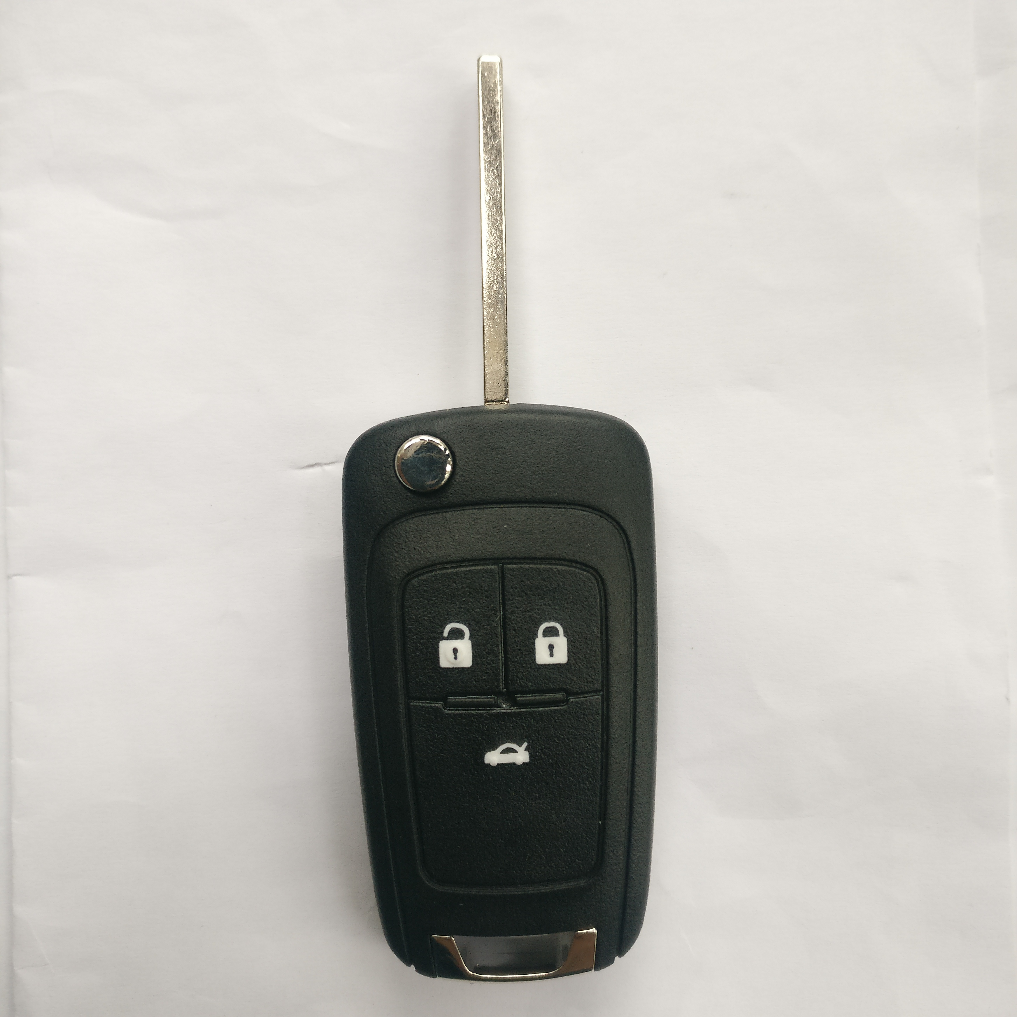 3 Buttons 315 Mhz Flip Remote Key for Buick