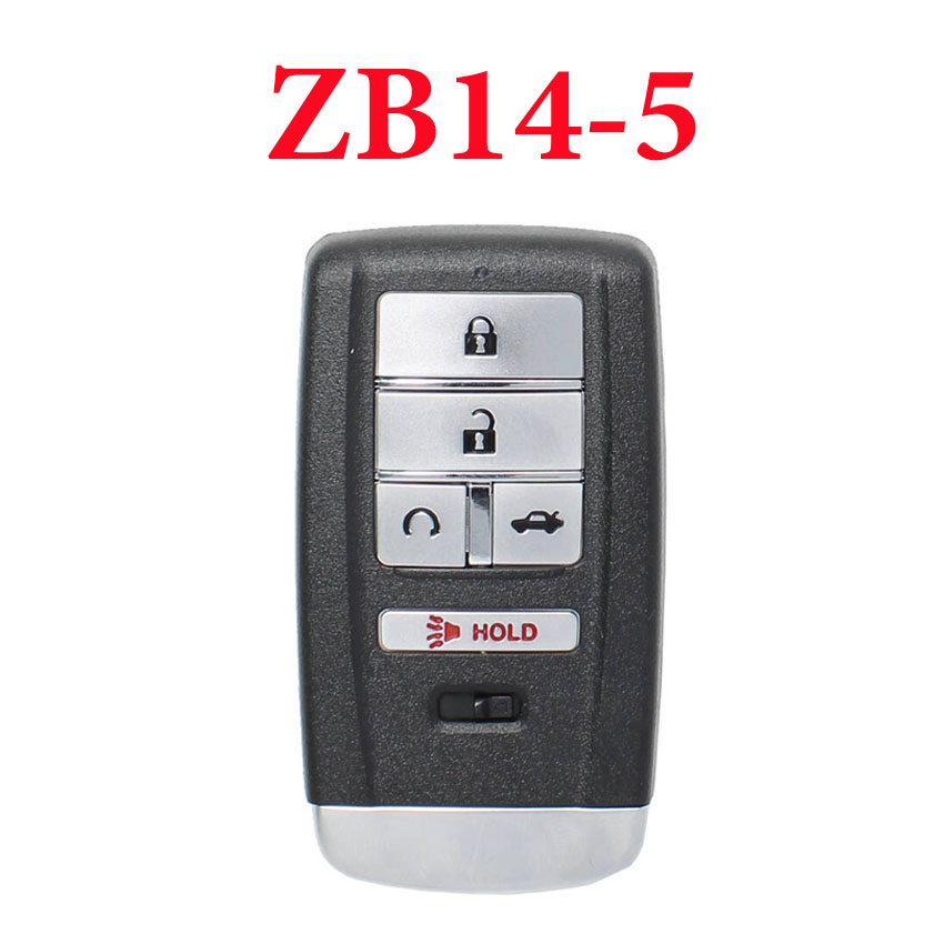 Universal ZB14-5 KD Smart Key Remote for KD-X2 - Pack of 5