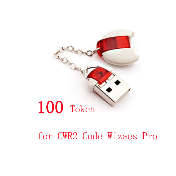 100 Tokens for CWP-2 CWP2 Code Wizard Pro 2 Pin Code Calculator