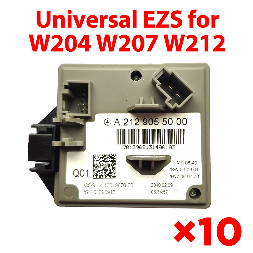 Universal EZS for Mercedes Benz W204 W207 W212 - 100% Completely New (10 pcs)