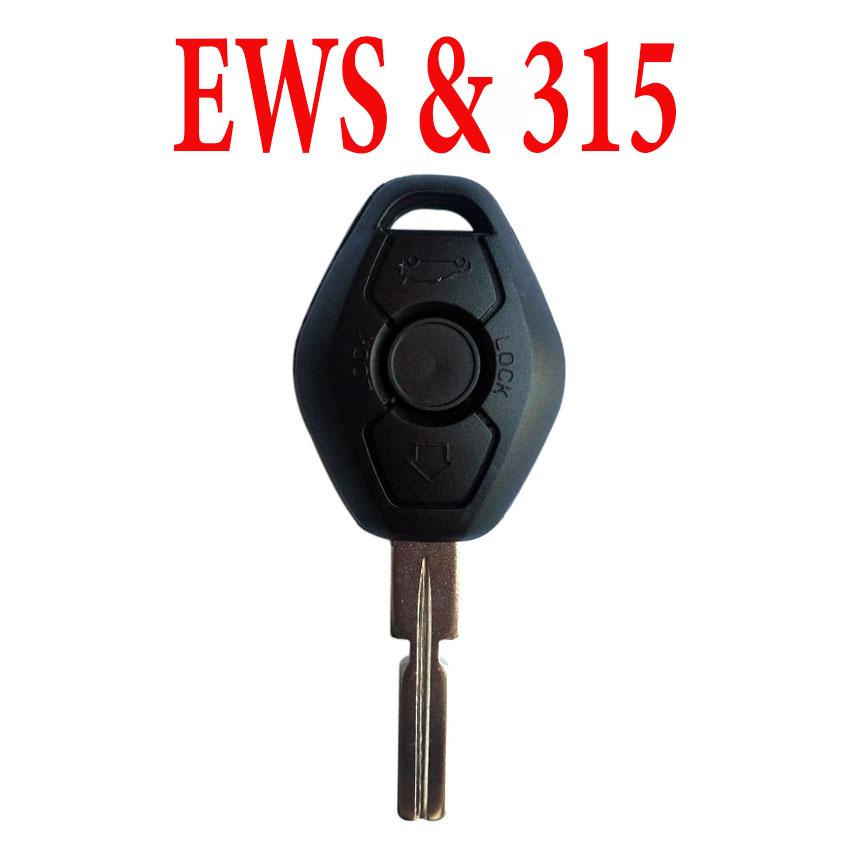 315 MHz EWS Remote Key for BMW - PCF7935