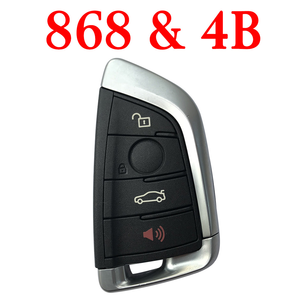 Smart Remote Key for BMW FEM - 4 Buttons 868 MHz