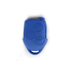 3 Button Remote Shell Blue for Ford Transit MK7 - Pack of 5