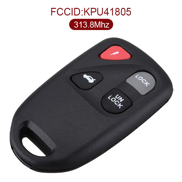 313.8 MHz 4 Buttons Keyless Entry Remote for Mazda 6 / 626 2003-2005 - KPU41805
