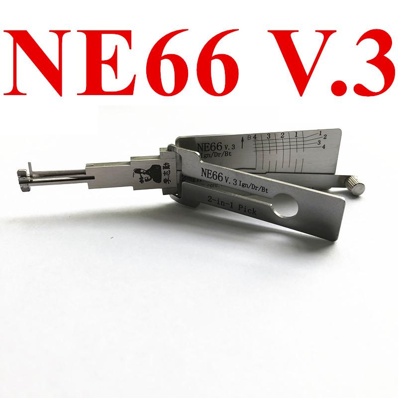 Original LISHI NE66 Auto Pick and Decoder For Volvo