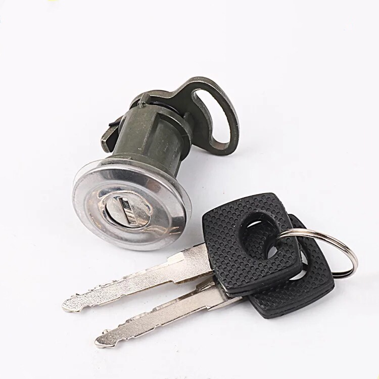 Left car door lock kit for Mercedes van with 2pcs key