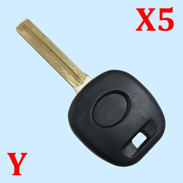 Transponder Key Shell for Lexus - 5 pcs