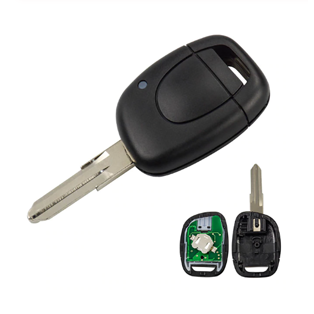 1 Button 434 MHz Remote Key for Renault with ID46 PCF7946 Chip VAC102 Blade