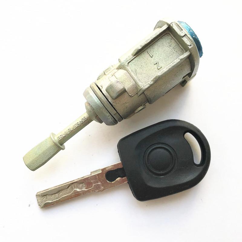 Left car door lock kit for VW Polo