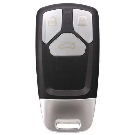 [AUD] TT 3 Button 433MHz Smart Remote Key HU66 8S0959754M (Black Back Side)